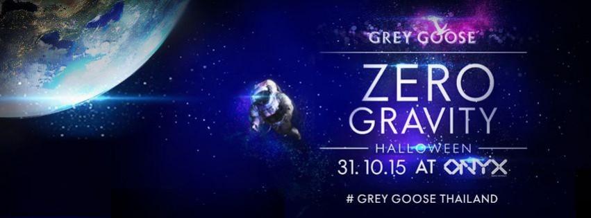 Grey Goose presents ZERO GRAVITY Halloween at ONYX